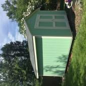 10x12x9 6'sidewalls Barn House