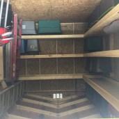 10x12x10 6'sidewalls Barn #1 Inside