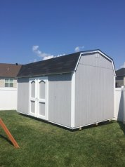 10x16x11 7'sidewalls fully painted and caulked
