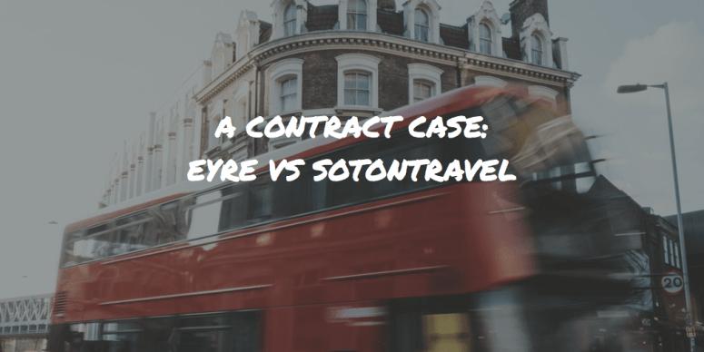 eyre vs sotontravel