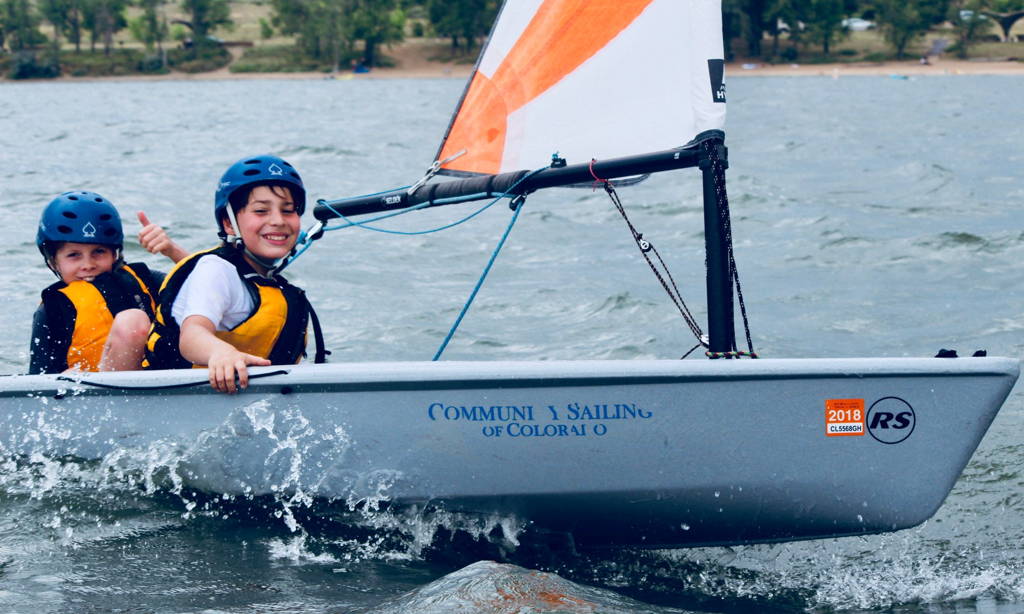 community sailing colorado image