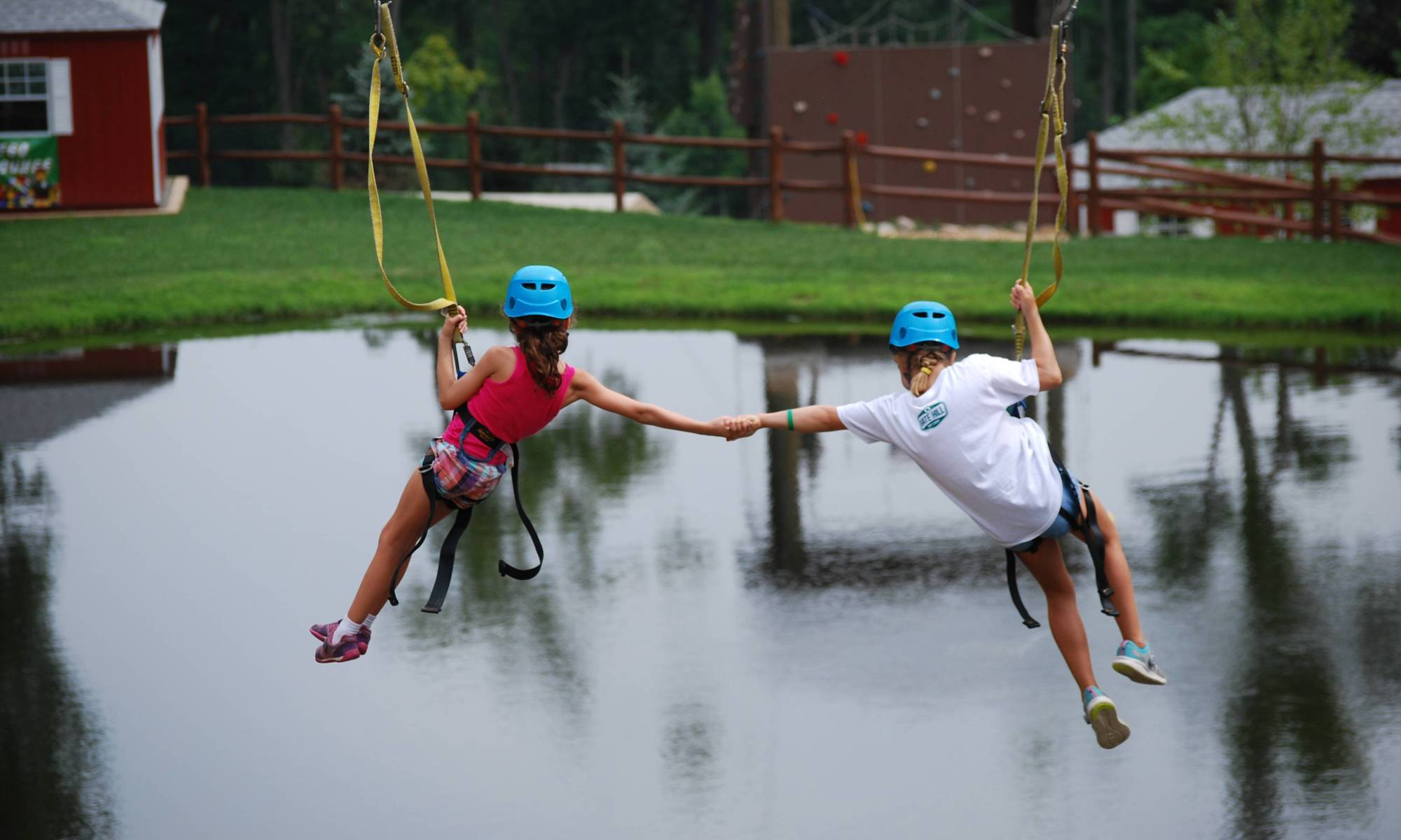 gate hill day camp zip line