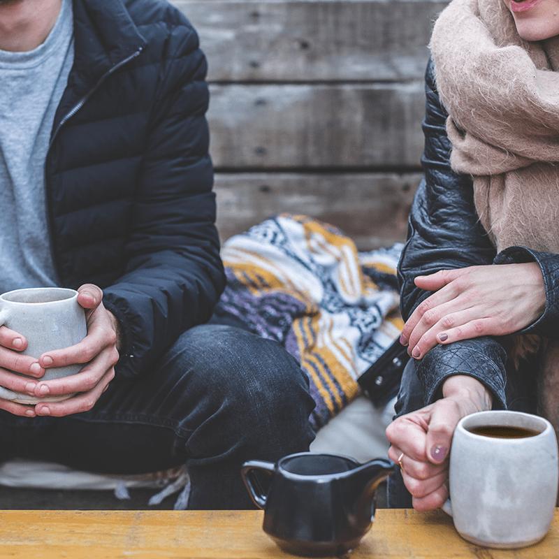 Friends Drinking better Coffee