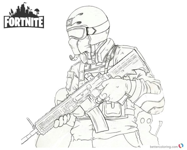 20 Fortnite Mini Gun Coloring Pages Ideas And Designs