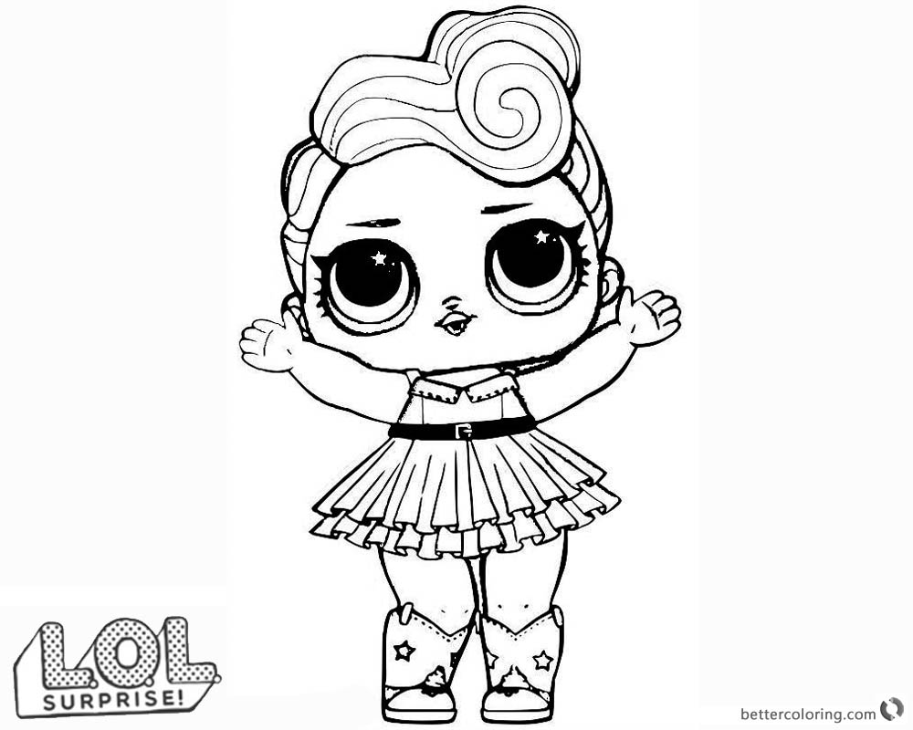 Lol surprise series 3 in 20 pharaoh babe source · doll coloring pages to print eskayalitim