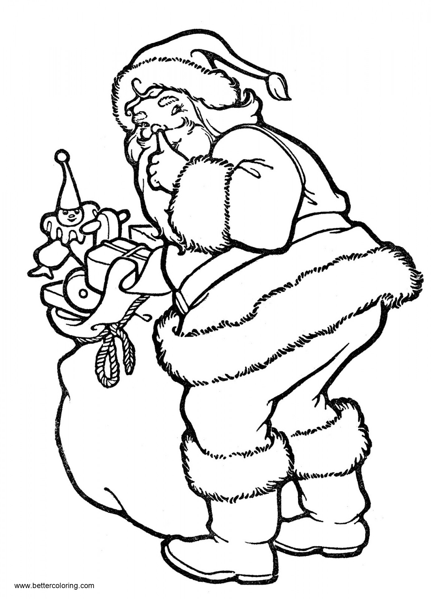 Christmas Coloring Page Kawaii Christmas Penguin Coloring Pages