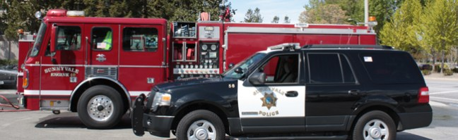First responders - there when you need them. (credit - Sunnyvale CA Government)