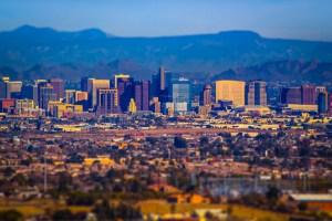 Phoenix: open desert and open rentals.