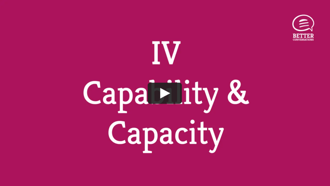 Video: Leaders Who Coach™️ Competency IV — Capability & Capacity of Teams