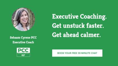 Executive Coach, Sehaam Cyrene PCC, ICF Credential