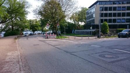 Alsterufer, Alte Rabenstraße