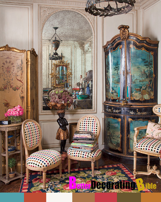 Celebrity Home Iris Barrel Apfels New York City Apartment