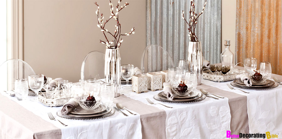 Stylish Holiday Ideas for Table Dcor  BetterDecoratingBibleBetterDecoratingBible