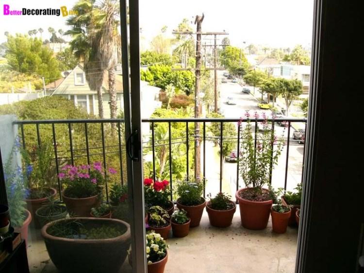 Garden Decoration Idea For Balcony Bill House Plans