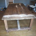 Restoration hardware heavy table big family eight seater plan 2