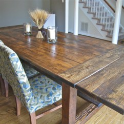 Diy Kitchen Tables Sink Oakley Friday Rustic Farmhouse Dining Table