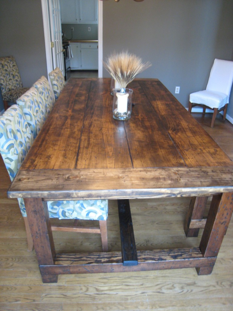Pdf dining table building instructions diy free plans for Instructions on how to build a table