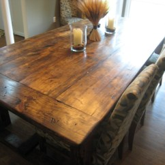 Diy Kitchen Tables Storage Wall Units Friday Rustic Farmhouse Dining Table