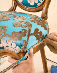 DIY Friday: How to Reupholster a Louis XVI Chair ...