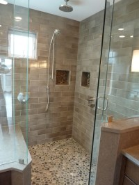 Pebble Flooring For Bathroom - Wood Floors