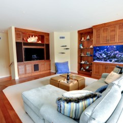 Wall Mounted Lights Living Room Ideas With Tv On How To Decorate An Aquarium Fish Tank ...