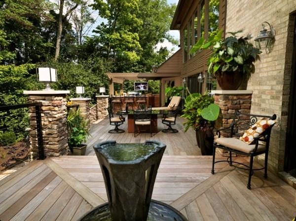 outdoor entertaining quick garden