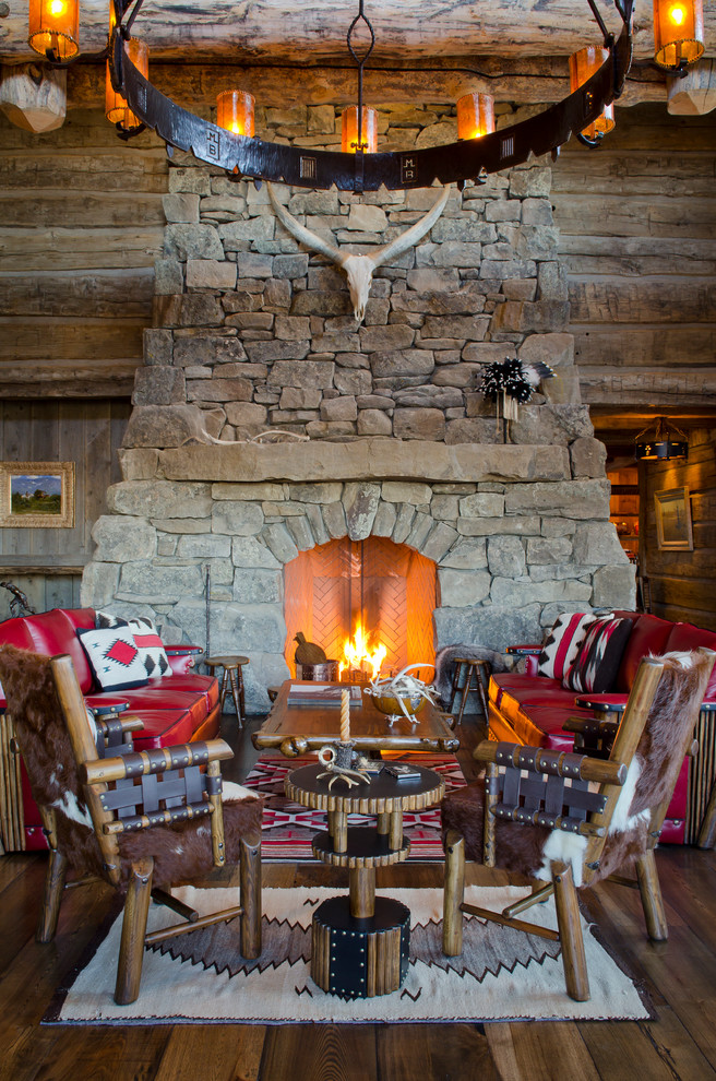 Get Cozy  A Rustic Lodge Style Living Room Makeover  BetterDecoratingBibleBetterDecoratingBible