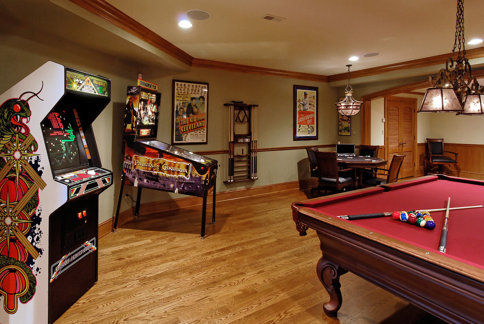 Some great game room ideas can focus on a vegas style theme that includes dcor, lighting as well as the games themselves. How to: Transform an Empty Space into a Game Room ...