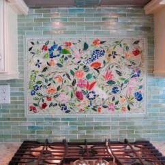 Mosaic Kitchen Tile Big Tiles Creating The Perfect Backsplash With