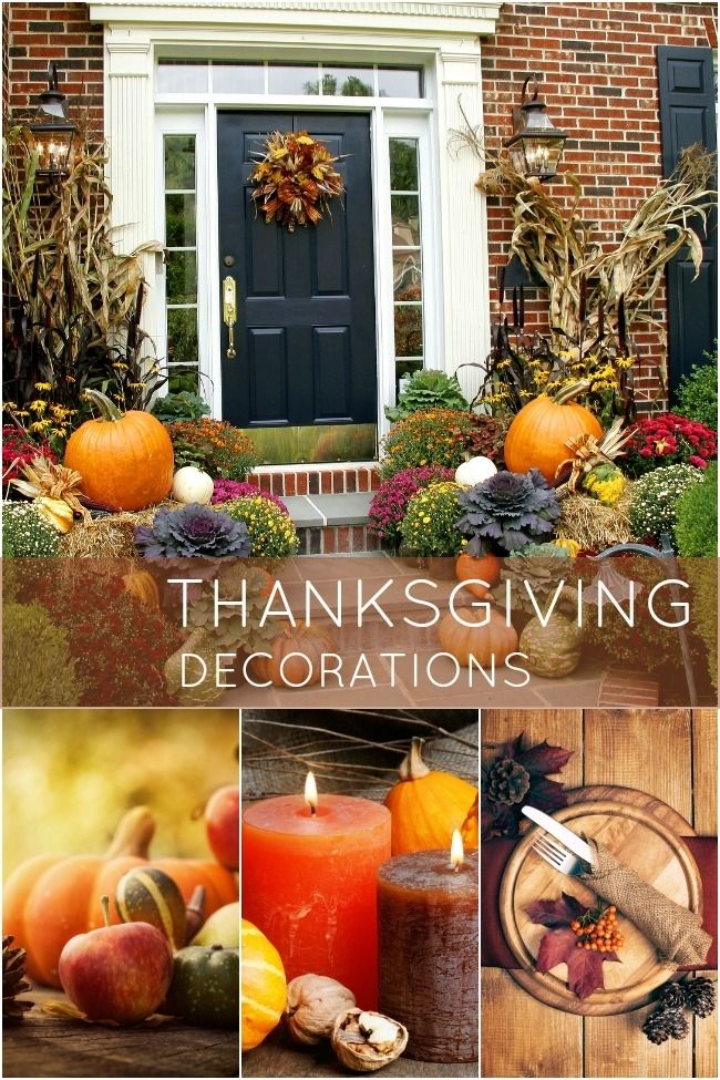 20 Easy Thanksgiving Decorations for Your Home  BetterDecoratingBibleBetterDecoratingBible