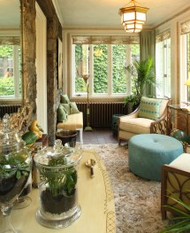 Transform Sunroom Winter Garden