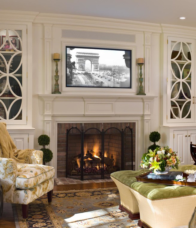 Placing a TV Over Your Fireplace  A Do or a Dont  BetterDecoratingBibleBetterDecoratingBible