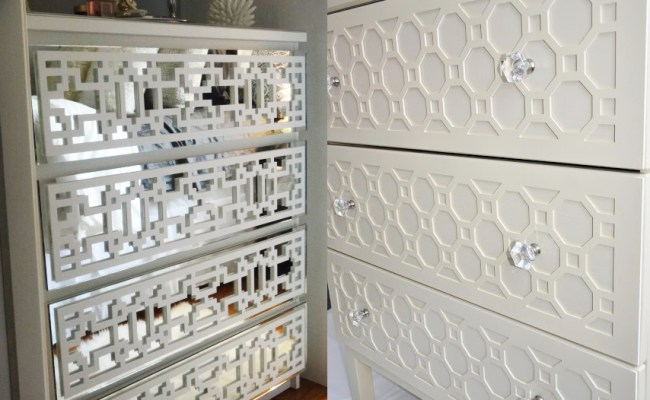 Add Instant Glam To Your Ikea Furniture Using Overlays