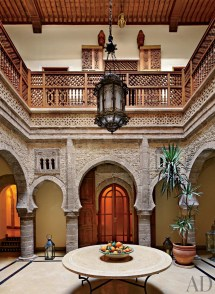 Moroccan Courtyard House