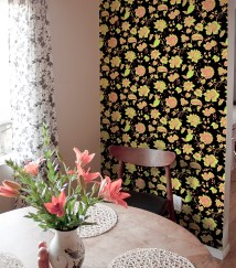 Easiest 2 Minute Makeover With Wallpaper Tiles
