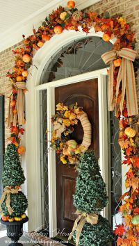 7 Front Door Decorating Ideas for instant Fall Curb Appeal ...