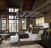 Rustic Cabin Bedroom Decorating Ideas