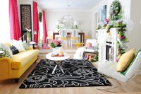 Pink and Yellow Holiday Home - Amazing Decor, Flooring ...