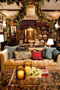 Decorating With Your Sofa for the Holidays!  Here are 6 ...