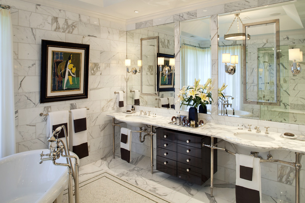 Hot for 2016 Decorating Your Bathroom in Silver Hues