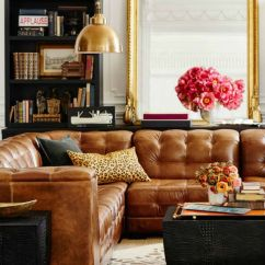 Living Room Decorating Ideas With Leather Furniture How To Choose Color For Tanned Sofas Are The Hottest Trend Of 2016 Sofa Decor Better