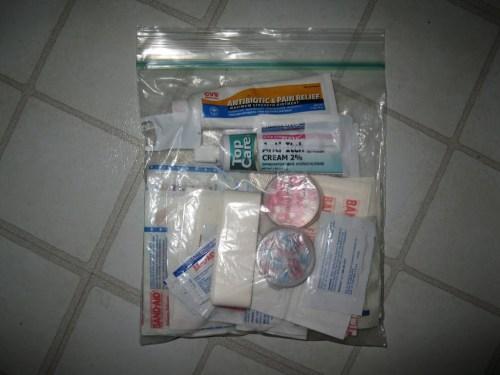 Cheap, Lightweight First-Aid Kit