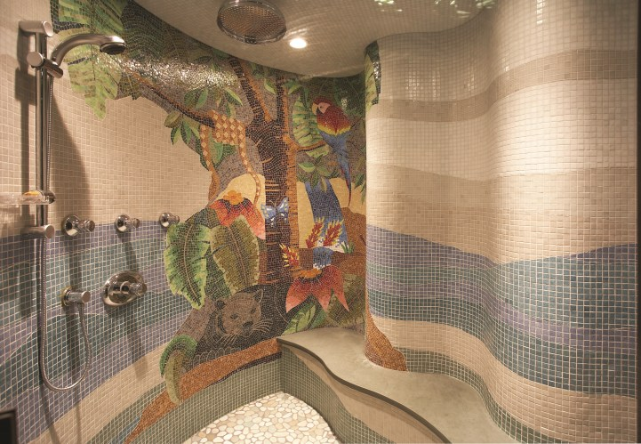 31 Knightswood Road - Basement Bathroom Rainforest Shower