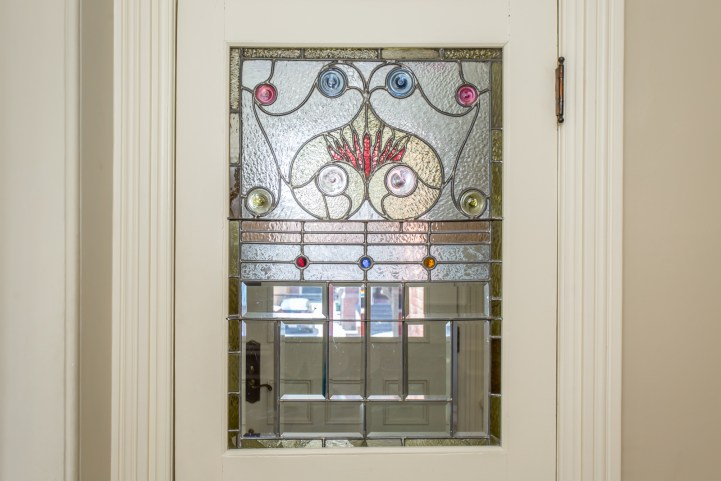 123 Bedford Road - Original Stained Glass