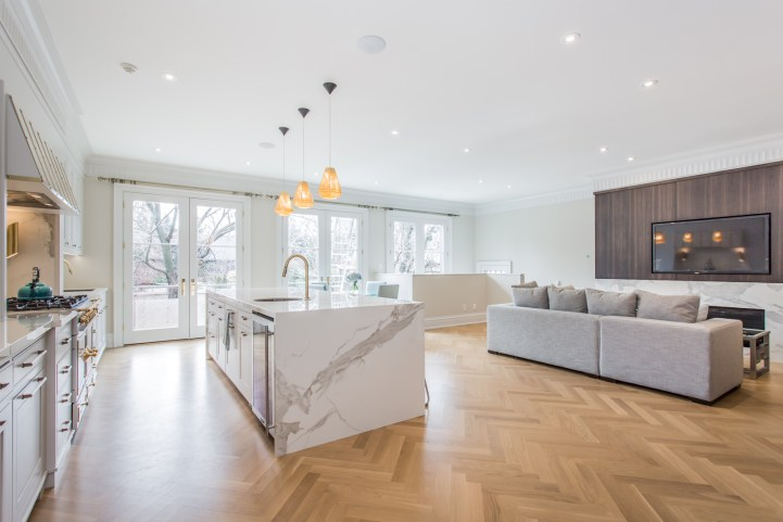 181 Crescent Road - Kitchen and Family Room