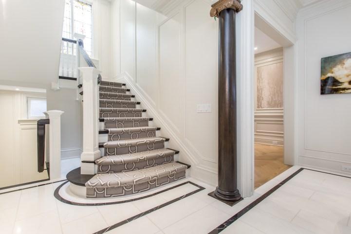 181 Crescent Road - Main Stairway