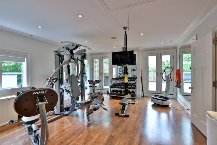 230 Russel Hill Rd - Fitness Room