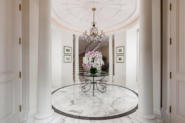 37 Edgehill Road - Marble Foyer