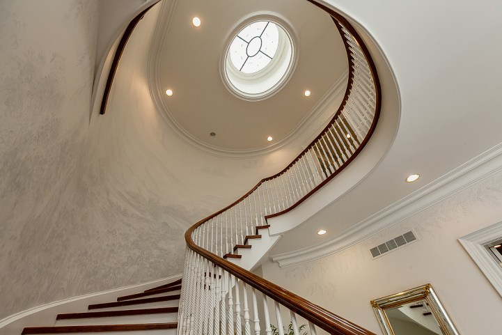 37 Edgehill Road - Spiral Staircase
