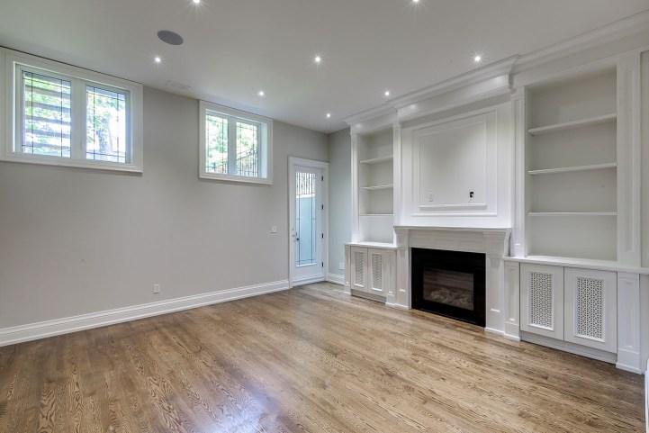 390 Brookdale Avenue - Living Room Bookcase